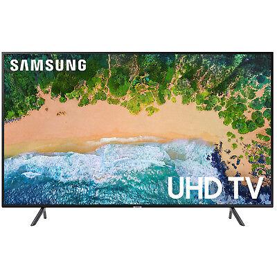 "Samsung UN55NU7100 55"" NU7100 Stylish 4K UHD TV (2018 Model)"