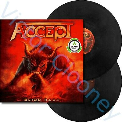ACCEPT - Blind Rage / 2014 Nuclear Blast 2 x Black Vinyl GATEFOLD LP NEW SEALED