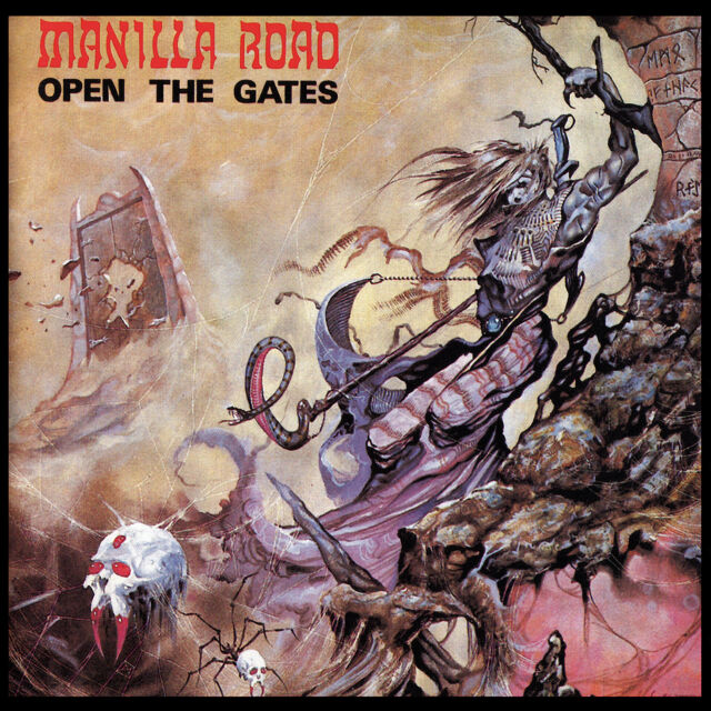 CD Manilla Road Open The Gates (2015 Remaster-Ultimate Edition)