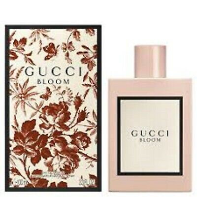 Gucci Bloom Perfume By Gucci 3.3 oz / 3.4 oz EDP Spray for Women New *AUTHENTIC*