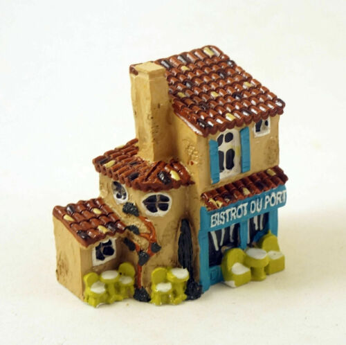 New J Carlton by Gault MIniature French Bistrot Du Port Provence Building