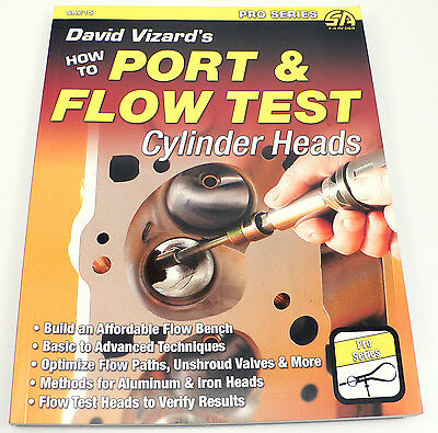 SA215 David Vizard's How to Port & Flow Test Cylinder Heads + Build A Flow Bench