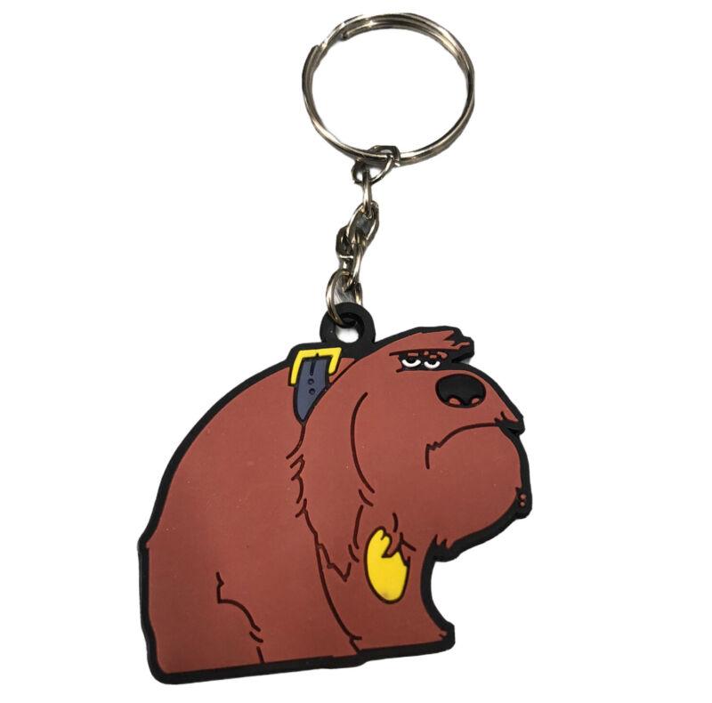 The Secret Life Of Pets Duke Mongrel Sheepdog Keychain Universal Studios