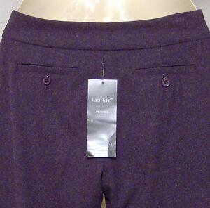 Karen-Kane-Lifestyle-Petites-Pants-Size-2P-Royal-Velvet-Welt-Pockets-Purple-NWT