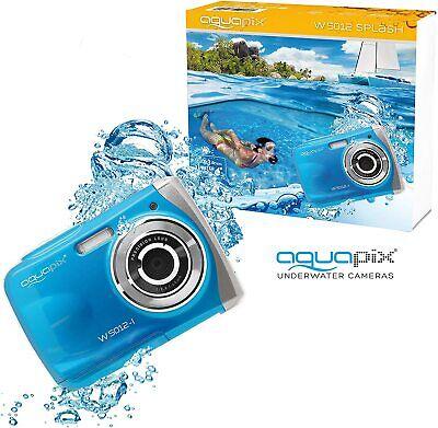 Fotocamera Macchina fotografica Subacquea Easypix Aquapix W5012 Splash iceblue