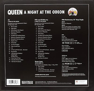 Queen - A Night at The Odeon (CD + SD Blu Ray...