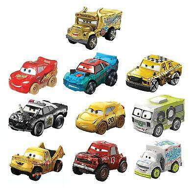 Cars Mini Racers Derby 10 Pack Metal Body Rolling Wheels Iconic Disney Pixar