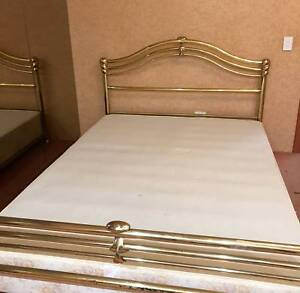 Queen Size Brass Bed Frame Beds Gumtree Australia South Perth