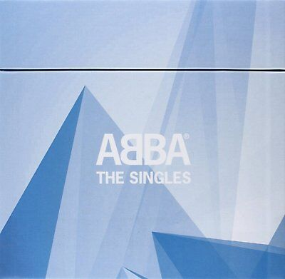ABBA - THE SINGLES ; rare deleted 40 x 7