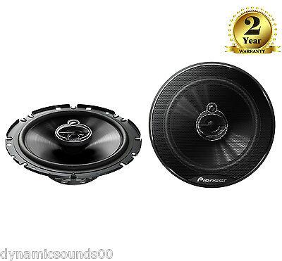 "PIONEER TS-G1733i 6.5"" 17cm 3-Way Coaxial Powerful Audio Car Speakers 250W"