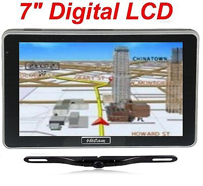 "7"" GPS Navigation Wireless Backup Camera Bluetooth FM Brand NEW USA shipping"