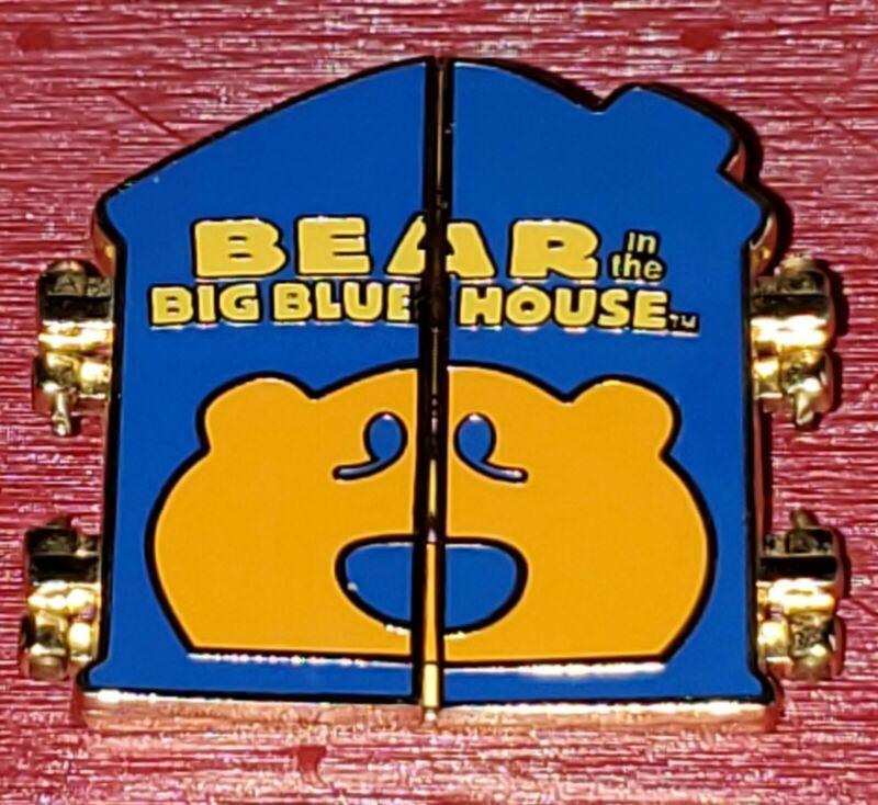 Disney Pin Bear in the Big Blue House Hinged Pin  RARE 2005 Free Shipping