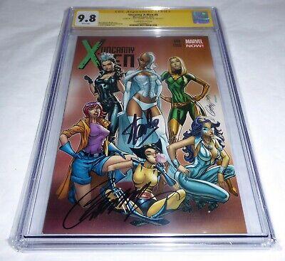 Uncanny X-Men #8 CGC SS Dual Signature Autograph STAN LEE CAMPBELL Variant Cover