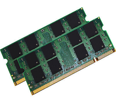 NEW! 4GB Kit (2x2GB) PC2-6400 DDR2 Laptop Memory SODIMM Notebook Dual Channel