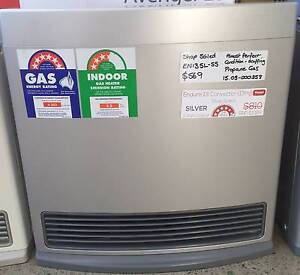 Shop Soiled Rinnai Enduro 13 - Silver - Propane Gas Heater (LPG) Caringbah Sutherland Area Preview