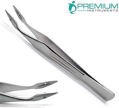 Carmalt Splinter Curved Tweezer 4.5 Surgical Forceps Veterinary Instruments