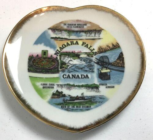 Vintage Niagara Falls Canada Souvenir Collector Plate Japan