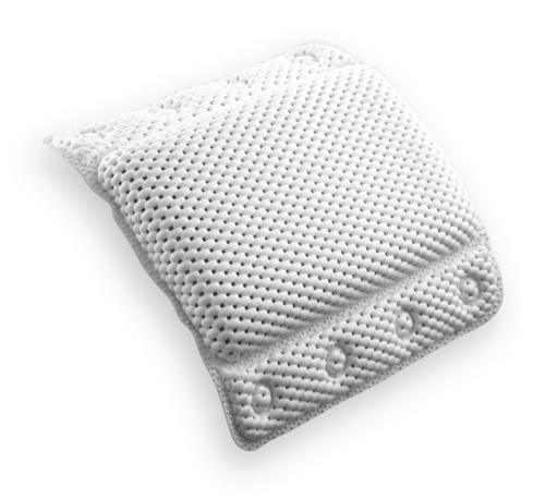 BINO Super Softee Cushioned Bath Pillow