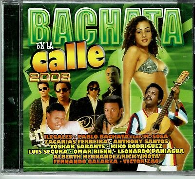 Bachata en La Calle 2008   BRAND  NEW SEALED  (Bachata En La Calle)