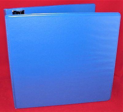 Wilson Jones 3 Ring 4 Binder Vinyl Blue View D Ring World Wide Snag Free New