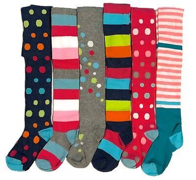 STRUMPFHOSEN Kinder Baby Mädchen Baumwolle °Punkte & Ringel° Gr.92-146 NEU