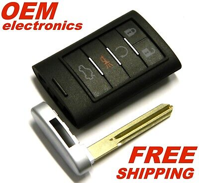NEW 2008 2009 2010 2011 CADILLAC STS REMOTE START KEY FOB M3N5WY7777A MEMORY