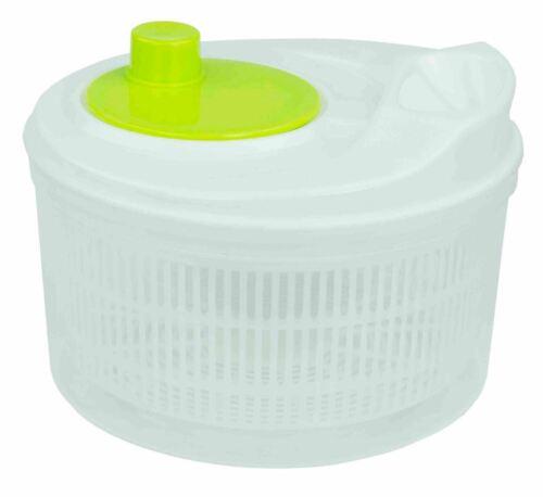 Home Basics Plastic Salad Spinner, White - KT47264