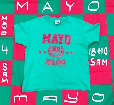 County Mayo GAA (Ireland) Gaelic Football Jersey Shirt (Youths 5-6 Years) for sale  Shipping to Canada