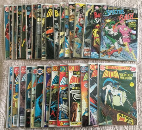 Bronze Lot/32 BRAVE AND THE BOLD Comics AVG FN-  Between #s 72-197