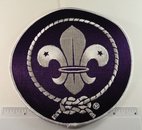 """TWO 24th World Scout Jamboree 2019 - Back Patches - 6"""""""