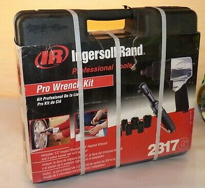 Ingersoll Rand Pro Air Wrench Set New 2317g Unopened 12 Impact Ratchet.