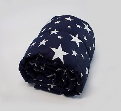 Weighted Blanket /Stars print - Helps to reduce insomnia,Anxiety, Sleep