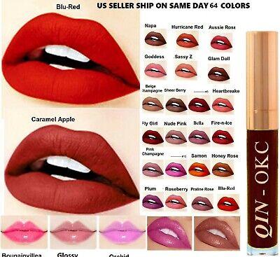 Long Lasting Super stay Matte Liquid Lipstick Lip Gloss Stain 64 Fashion Sense C Long Lasting Lip Stain