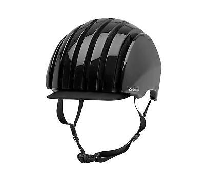 Carrera Casco Bicicleta Plegable Crit Negro Colores Lisos Techo Plegable