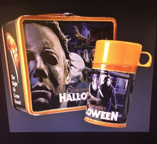 Fright Rags Michael Myers Halloween Lunchbox & Thermos Set OUT OF PRINT!-NEW!!!