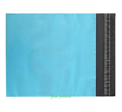20 Blue Plastic Envelopes Pouches Poly Mailing Bags 5.9