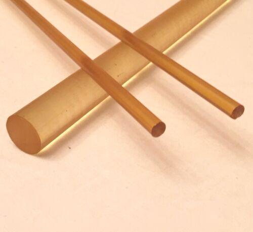 "1.5"" Diameter ULTEM Rod - Priced Per Foot- Cut to Size!"