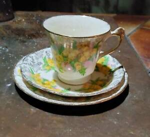Antique teacup and saucer set, perfect condition
