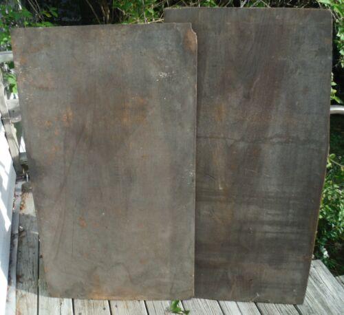 2 Antique Wide Wood Boards Hardwood for Furniture Restoration