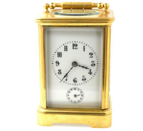 Antique Vacheron Constantin Carriage Clock W/ Alarm Circa 1880