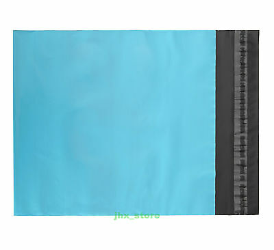 20 Poly Envelopes Mailers Blue Plastic Mailing Bags 5.1