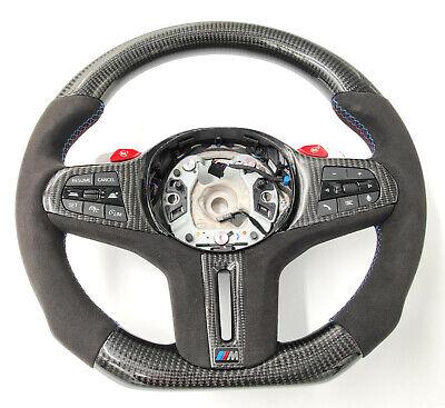 Carbon Lenkrad für BMW M8 F91 F93 X5M F95 m850 Carbonfiber steering wheel Tausch