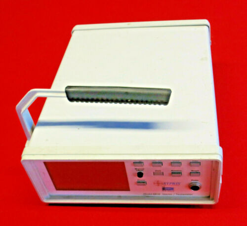 SYPRIS model 6010 Gauss / Teslameter 0-20kHz, Auto Range, RS 232
