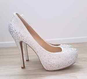 NEW sparkly heels,Italy,size:40(10) Mermaid Beach Gold Coast City Preview