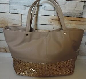 Deux Lux Gold Shoulder Bag 44