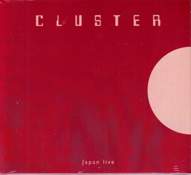 CLUSTER japan live Digipack CD NEU OVP