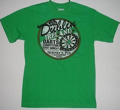 Murphys Pub Landsdowne Road Dublin Ireland Dart Competition T Shirt Medium -
