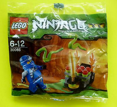 Lego Ninjago 30085 Blauer Ninja Jay und springende Schlangen Polybag Neu Ovp (Blaue Lego Ninjago)