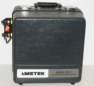 Ametek Pk2-854wc-ss Pneumatic Deadweight Tester