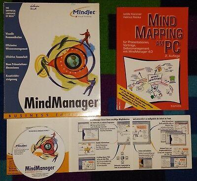 MindJet Business Edition 4.0  deutsch OVP MwSt Rechnung